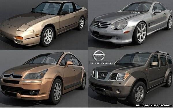 3d модели машин - фото 8